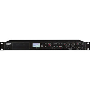 Tascam SD-20M Rackmount Solid State Audio Recorder w/ XLR Mic Inputs SD20M- Open