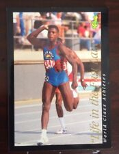 1992 Classic World Class Athletes Carl Lewis - Track and Field Promo Card