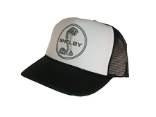 Shelby Cobra hat Trucker hat mesh hat adjustable black