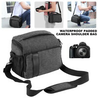 SLR DSLR Lens Camera Bag Carry Case For Nikon Canon EOS Sony Olympus Cover AU
