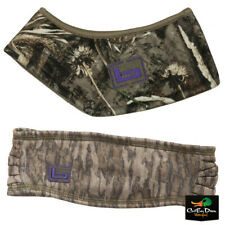 "NEW BANDED WOMENS WINDSHIELD FLEECE CAMO HEADBAND ""b"" LOGO"