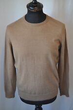 Vintage Peter Scott beige jumper size 42 made in Scotland mod casual golf