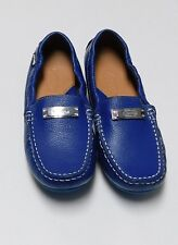 Venettini Girls Kids Size Euro 35 US 3.5 Blue Flat Shoes