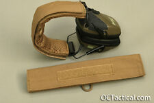 Coyote 498 Hearing Protection Cover Wrap for Howard Leight Impact OC Tactical