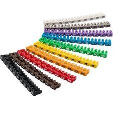 "Goobay clips para marcar cables 0-9"" por Diámetro de (6 0 mm Números 0-9)"
