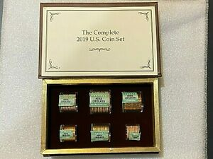 The Complete Danbury Mint 2019 U.S. Coin Set NIB Never Circulated Coins