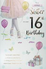 Sister 16th Birthday Card