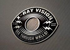 CUSTOM VINTAGE STYLE X-RAY VISION DOOR PEEP HOLE COVER PLATE SUPERMAN POWER