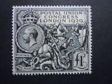 1929 GB.puckgv black Rarissimo perfetto francobolli nuovo M.N.H**   RRR