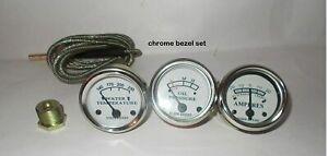 John deer Tractor Gauge-Oil Pressure, Ammeter, Temp-50,60,70,520,530,620,630,720