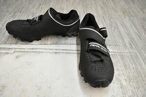 Pearl Izumi X-Alp Divide Mountain Cycling Shoes, Women's Size 6/EU 37 - Black