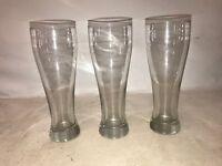 Set of 3 pilsner ale glasses - beer glasses
