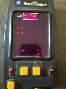 1980 Entex Space Invader Electronic Handheld Game Vintage Japan. Loc b