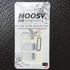 4 IN 1 Nano SIM Card to Micro Standard Adapter Converter Set For i Phone Samsung