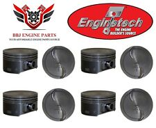 (8) CHEVROLET GM GENIII 6.0 LY6 L76 NEW ENGINETECH HYPEREUTECTIC PISTONS P5073