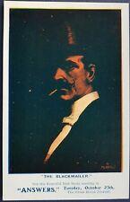 The Blackmailer, Albert Morrow, David Allen & Sons, Theatre Postcard