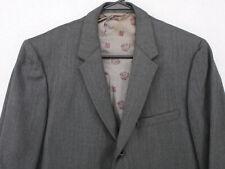 Vtg 70s CROWN JUILLIARD Gray Blazer Sport Coat Suit Jacket Men's 40L