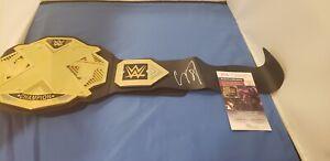Corey Taylor Signed WWE NXT Toy Belt JSA Slipknot