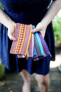 Woven Mexican Bag Handmade Oaxaca Mexico Artesanal