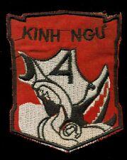 RVN 4th Marine Battalion Kinh Ngu Vietnam Patch F-2