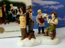 Dept 56 New England Village Conversation Over Coffee! New