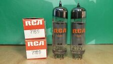 Closely Matched Pair of RCA 7189 NOS NIB Gray Glass Vacuum Tubes
