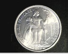 1952 France Ocenia, 5 Francs,  High Grade Aluminum   (Fra-26)