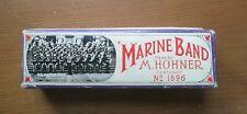 Vintage Hohner Marine Band Harmonica No.1896 BOX & INSTRUCTIONS ONLY