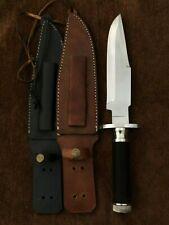 Handmade 5160 Spring Steel Predator MCS Knife,Rambo knife,Tactical Knife Replica