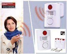Détecteur de mouvements avec alarm Fonction maison Sirène Sécurité