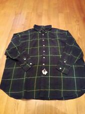 MENS RALPH LAUREN SPORT SIZE 4X BIG PLAID VINTAGE  BNWT