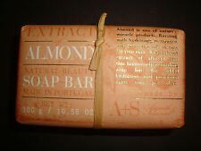 Asquith & Somerset Made in Portugal 10.58oz Natural Beauty Bath Bar Soap Almond