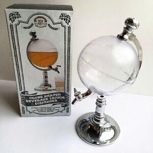 Globe Shaped Beverage Liquor Dispenser Drink Wine Beer Pump Whiskey Decanter USA