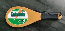 Vintage Jokari Gatorade Wood Paddle Racquet