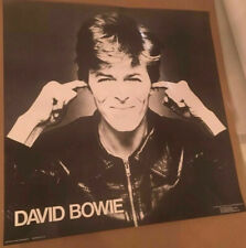 David Bowie Winterland Productions Original Promo Poster 1978 > SHIPS FREE!