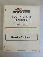 1996 Mercury Mercruiser Technician's Handbook - 90-806535960 Gasoline Engines