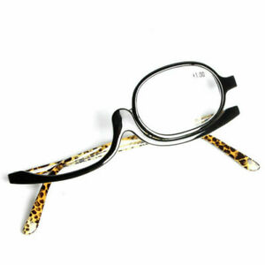 Women Magnifying Glasses Makeup Reading Glass Folding +4.0 Eyeglasses to Z6P1