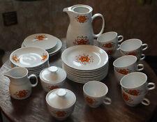 altes Kaffeeservice für 9 Personen, vermutlich in der DDR hergestellt