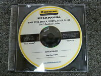 New Holland B90B B95B B95BLR B95BTC Backhoe Loader Shop Service Repair Manual CD