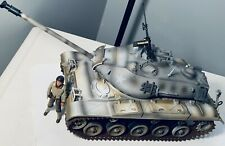 1:18 Tank M41 Walker Bulldog 21st Century Ultimate Soldier with Figure Interior