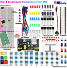 830 POINT SOLDERLESS BREADBOARD MB-102 POWER SUPPLY MODULE 65 PCS JUMPER CABLE