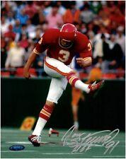 Jan Stenerud Kansas City Chiefs Autographed 8x10 Photo With Inscription TRISTAR
