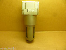 SMC NAF5000-N06 INLINE PNEUMATIC/AIR FILTER WITH DRAIN VALVE 3/4 NPT PORTS  NOS
