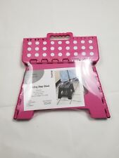 Folding step Stool  -home /office/Gardening- Home Collection .color pink