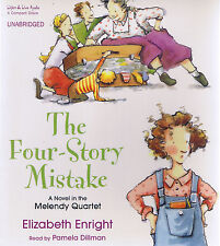The Four-Story Mistake 4-CD Unabridged Audiobook - Enright - NEW - FREE SHIPPING