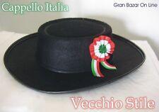 CAPPELLO ITALIA VECCHIO STILE con COCCARDA