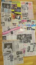 Mark Wahlberg, Lot of TEN Full and Two Page Vintage Clippings