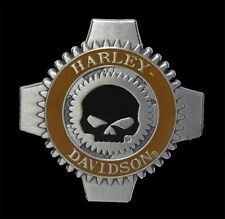 HARLEY DAVIDSON WILLIE G SKULL GEARS BADGE Pin harley PIN