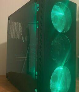 Custom 12 Core Green Gaming PC Desktop Computer Xeon 12 Core 12GB 500GB GTX 770