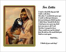 Pet Memorial-w/Jesus-Dog,Cat-Custom-Made/Personalized w/Your Picture/Poem-3